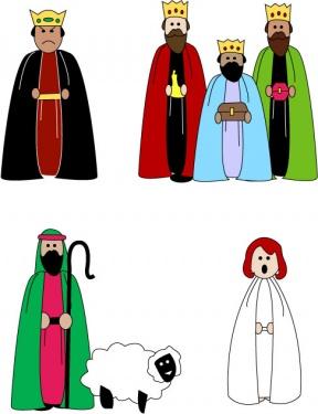 288x375 Free Nativity Cliparts