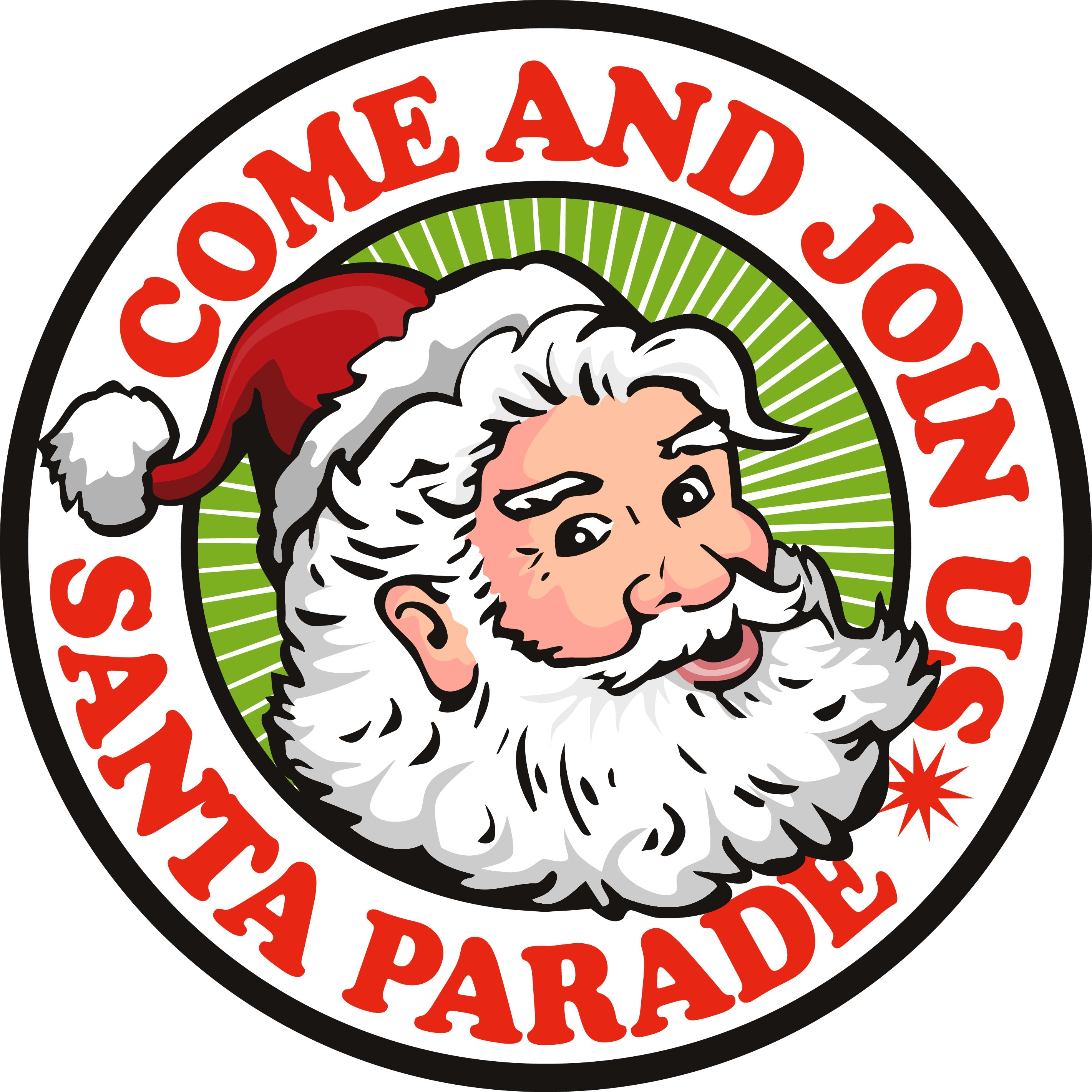 2842x2842 Clip Art Of Christmas Parade Events City Harrington Kent County