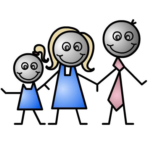 500x500 Family Going To Church Clipart Clipart Panda