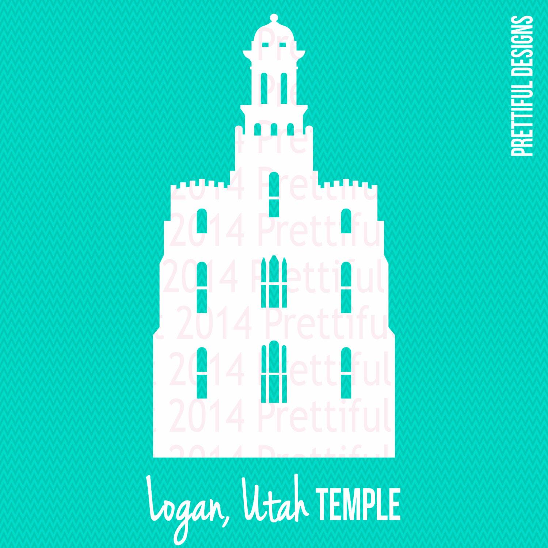 1500x1500 Logan Utah Temple Silhouette Lds Mormon Clip Art Png Eps Svg