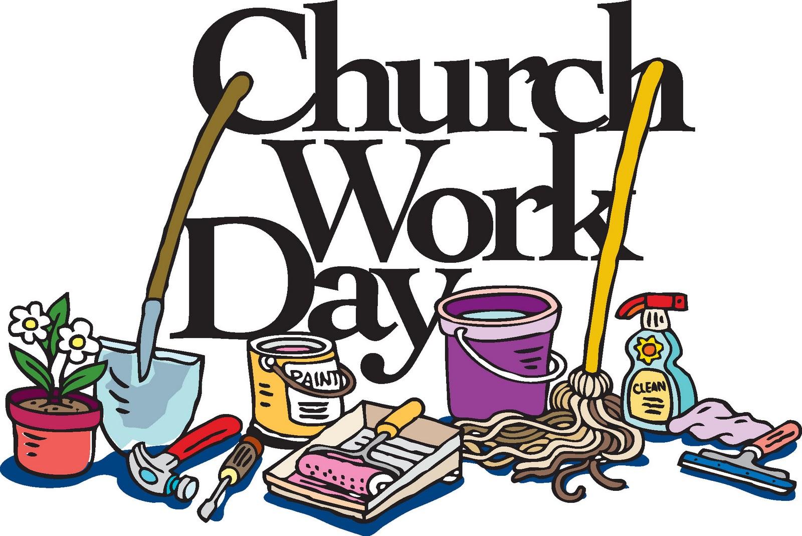 1600x1069 Church Clean Up Day Clip Art