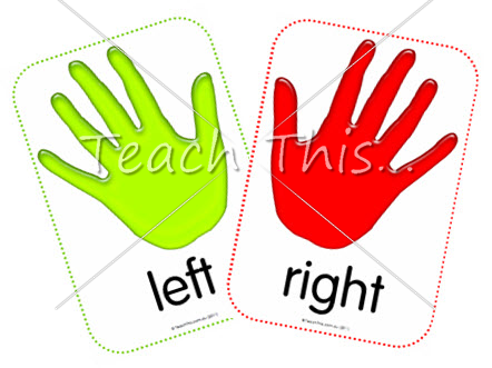 Left And Right Hand Clipart