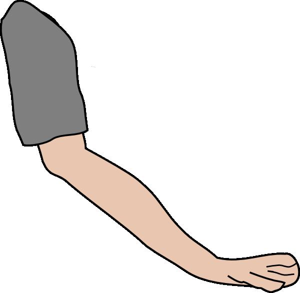 600x586 Left Arm Clipart