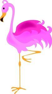 167x300 Flamingo Clip Art Flamingo Clipart Image