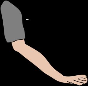 298x291 Clip Art Arm Clipartlook