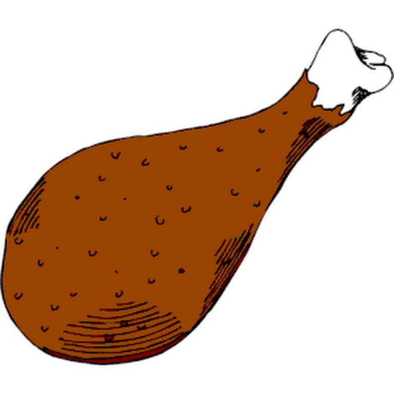 768x768 Chicken Drumstick Clipart Fried Chicken Leg Clipart The Cliparts