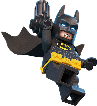 402x439 Batman Lego With Gun Clipart Png