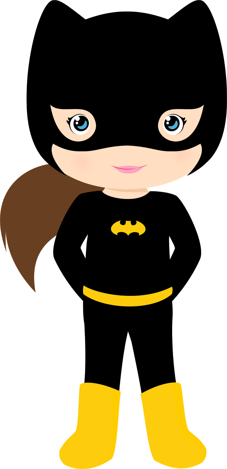774x1600 Characters Of Batman Kids Version Clip Art.