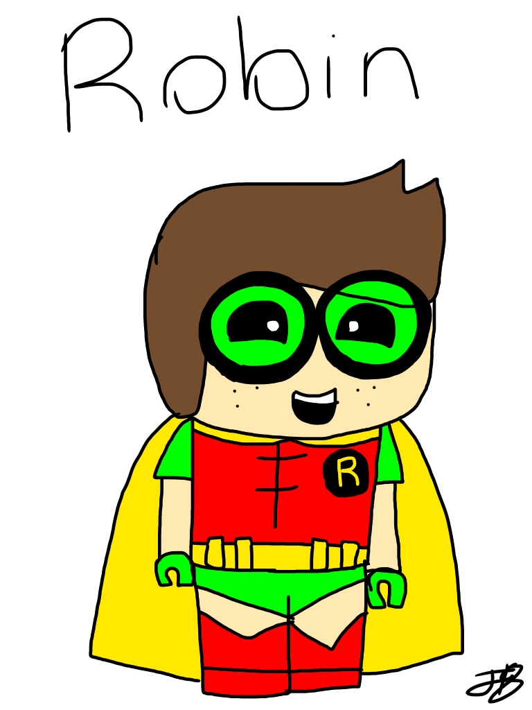768x1024 Lego Batman Robin By Jillian18