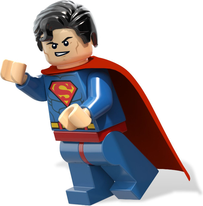 680x690 Superman Clipart Lego Man