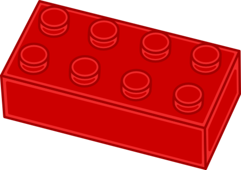 486x343 Lego Clip Art Stacked Free Clipart Images 3