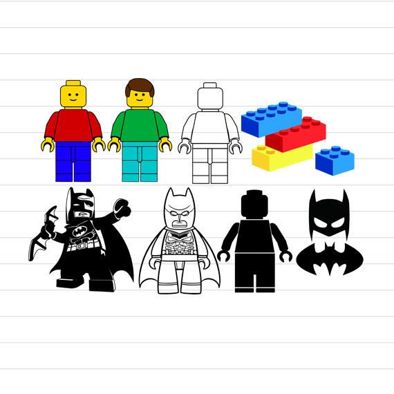 570x570 Instant Download Lego Svg Lego Batman Svg Lego Svg Files