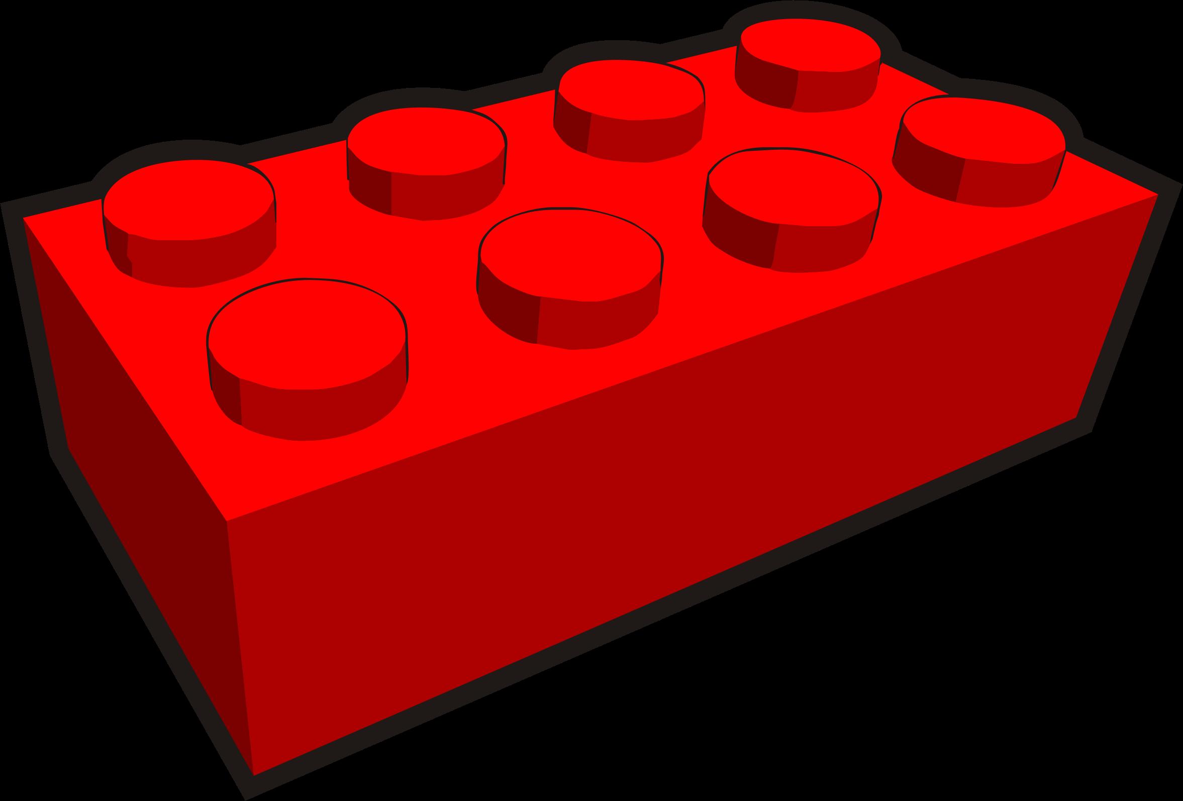 2354x1594 2x4 Lego Brick Clipart