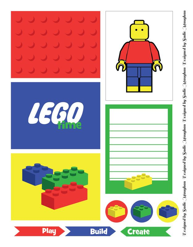 625x800 124 Best Lego Birthday Printables Images On Lego