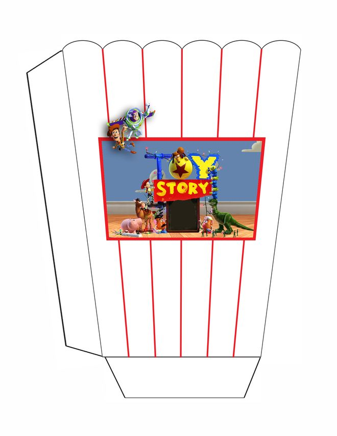 660x854 Toy Story Popcorn Toy Story Birthday Printables