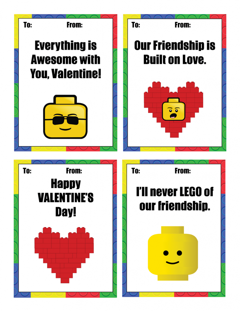 791x1024 Amusing Free Lego Printables 17 Paper Crafts