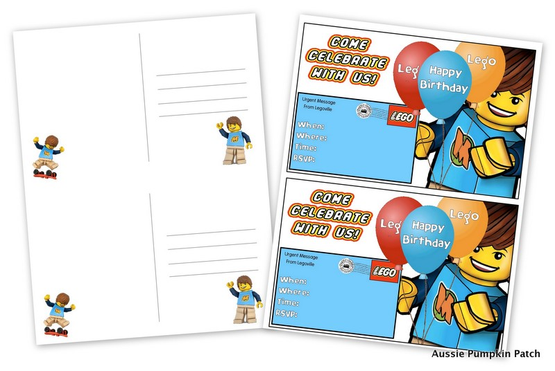 800x536 Aussie Pumpkin Patch Lego Party Printables