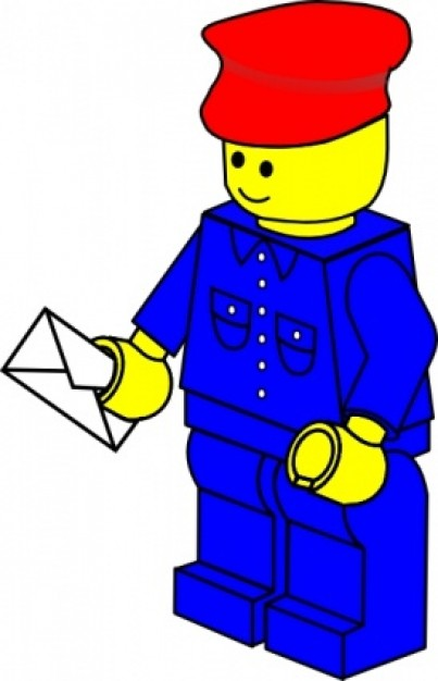 Lego Minifigure Clipart