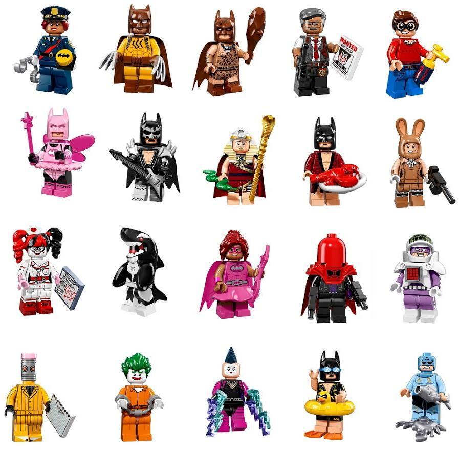 897x881 Dc Lego Batman Movie Minifigures @