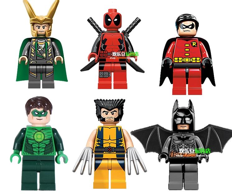 746x623 Deadpool Green Lantern Robin Wolverine Batman Minifigure Lego Clipart
