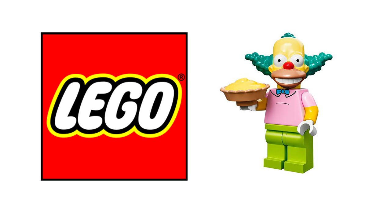1280x720 Krusty The Clown Simpsons Lego Minifigure Minifig Mini Fig Mini