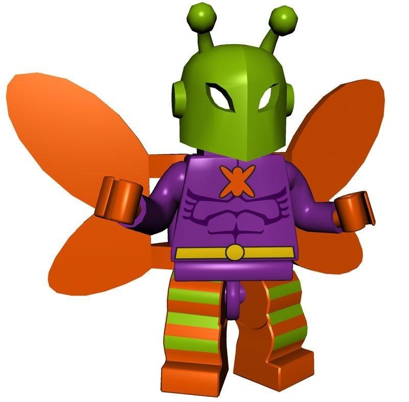 800x785 Lego Batman Custom Man Bat, Clayface Amp Killer Moth Hd Action
