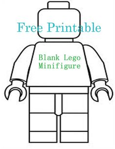236x305 Lego Printable Mini Figure Coloring Page L For Lego