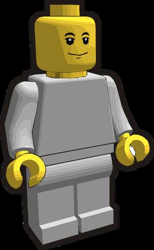 309x500 Lego Minifigure Vector Clip Art Public Domain Vectors