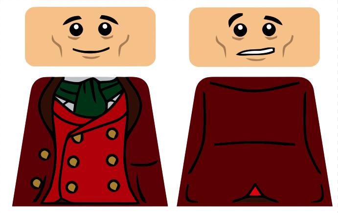 691x436 Bilbo Baggins Clipart Lego Figure