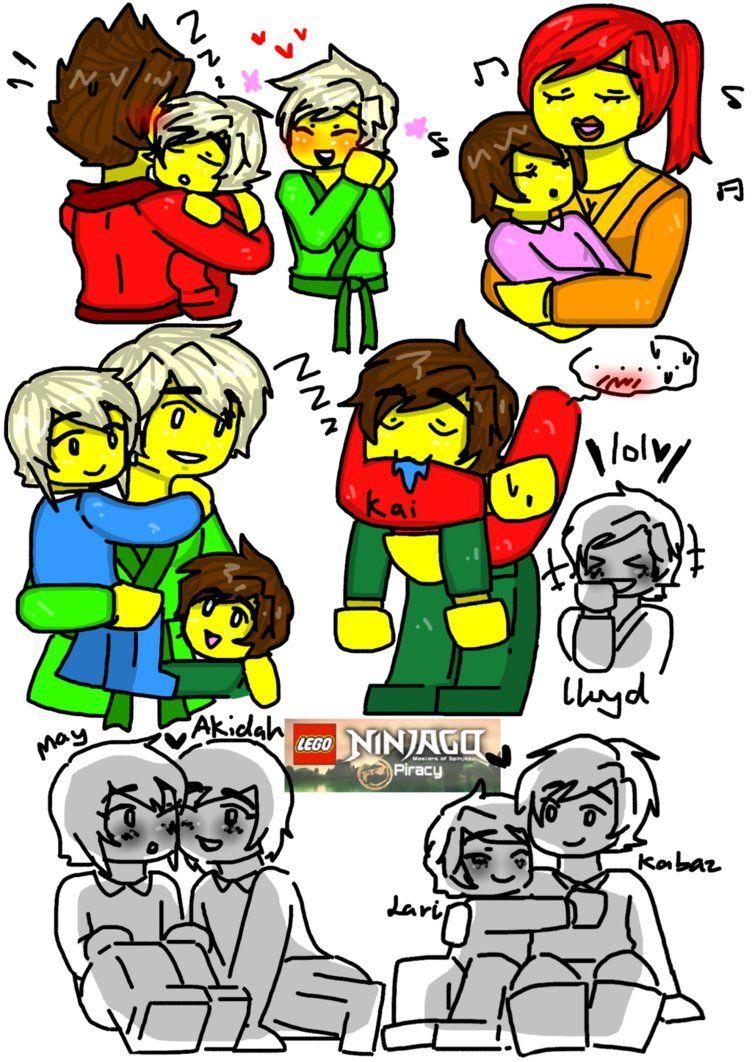 752x1062 Lego Ninjago Ocs