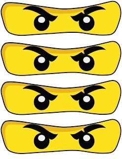 247x320 Printable Ninjago Eyes