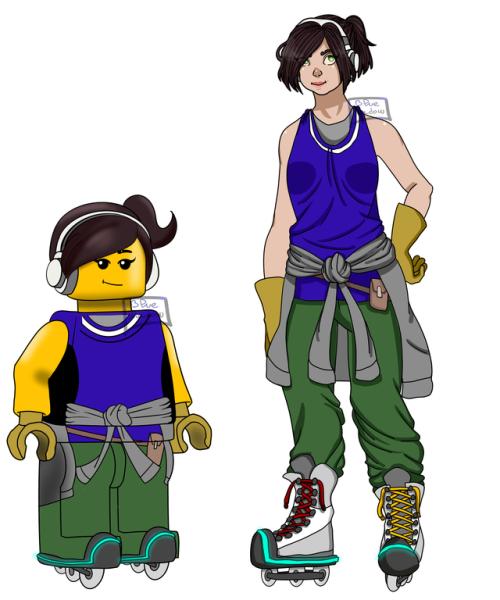 500x600 Lego Ninjago Oc Tumblr