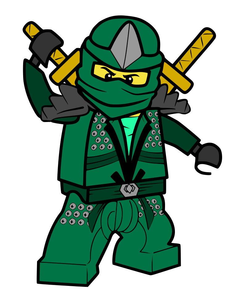 765x990 Green Lego Ninja