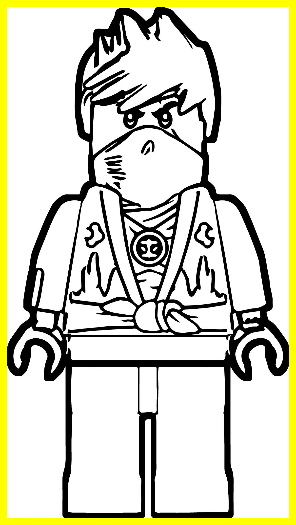 Lego Ninjago Colouring Pages To Print At Getdrawings Free Download