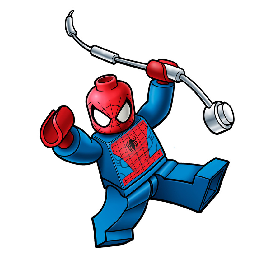 855x858 Free Spiderman Clipart Gallery Images)