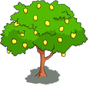 304x294 Lemon Tree The Simpsons Tapped Out Wiki Clipart
