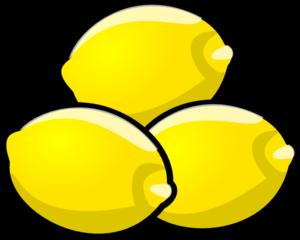 300x240 Lemons Clip Art