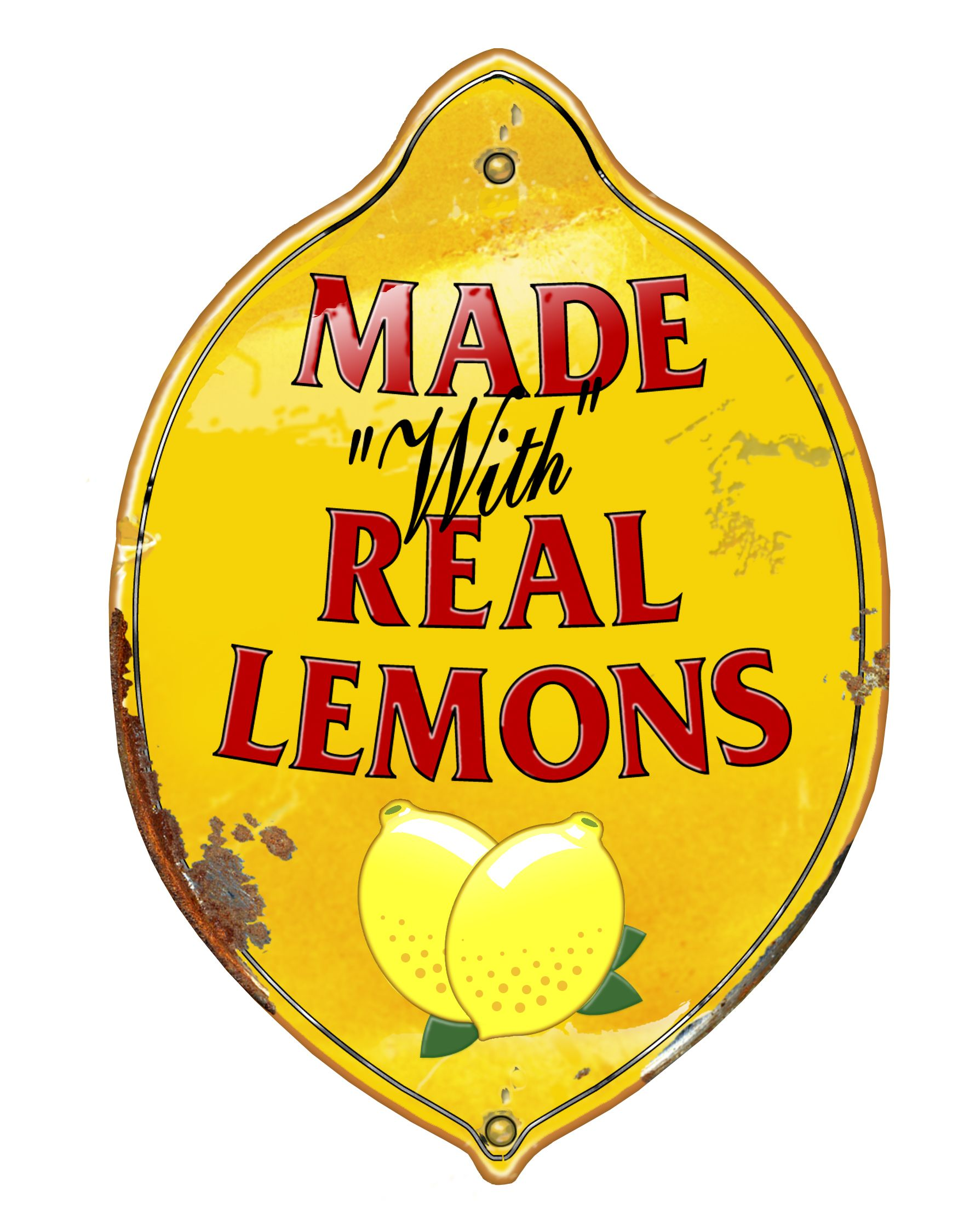 1760x2249 Made With Real Lemons Clip Art