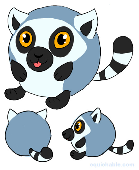 450x550 Lemur Clipart Ringtail