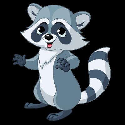 400x400 Raccoon Clipart Transparent