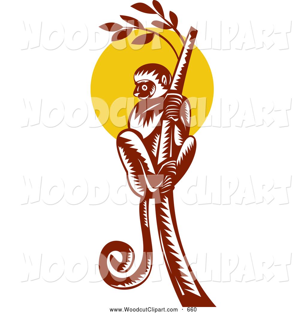 1024x1044 Clip Art Of A Retro Lemur Clipart Panda
