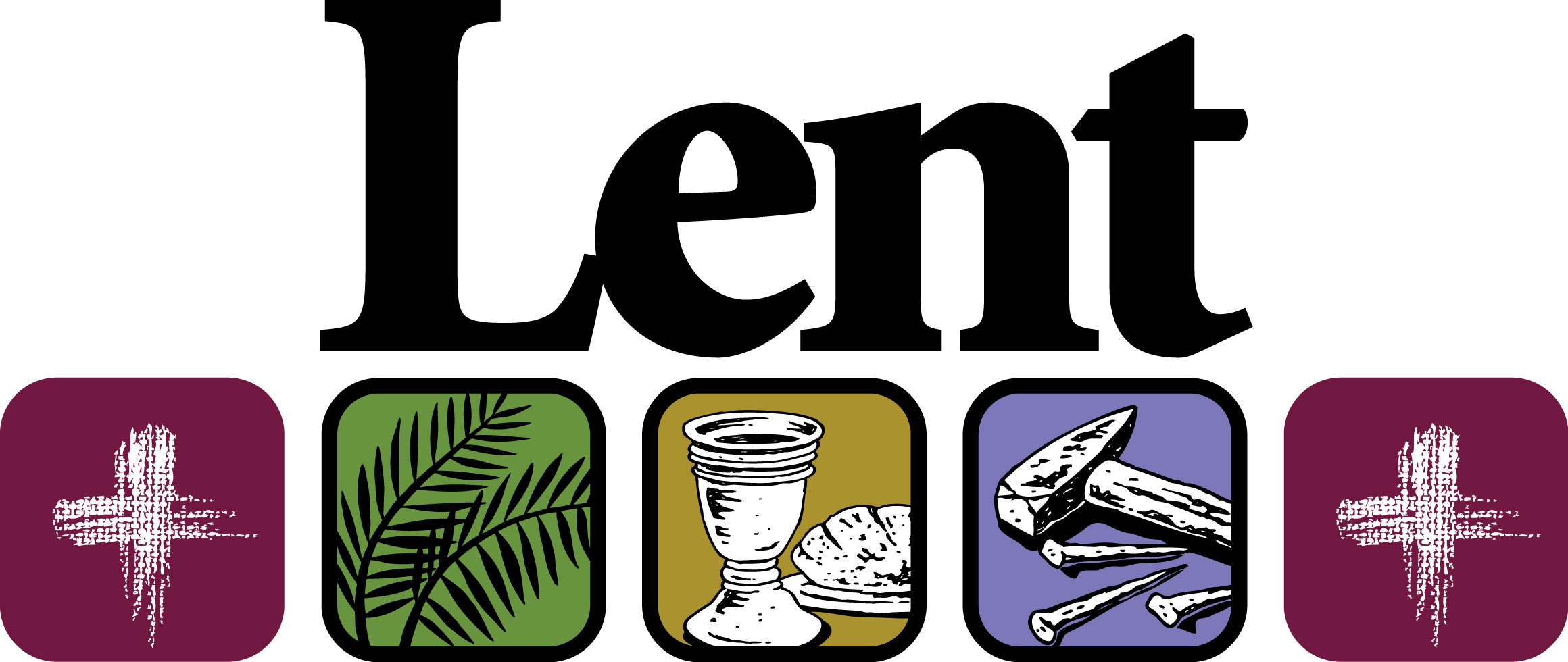 2320x980 Lent Clipart Our Lady Queen Of All Saints Catholic Church