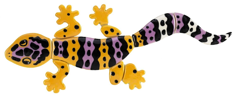 1500x613 Leopard Gecko Ceramic Pool Mosaic By Custom Mosaics, Inc. Lg62