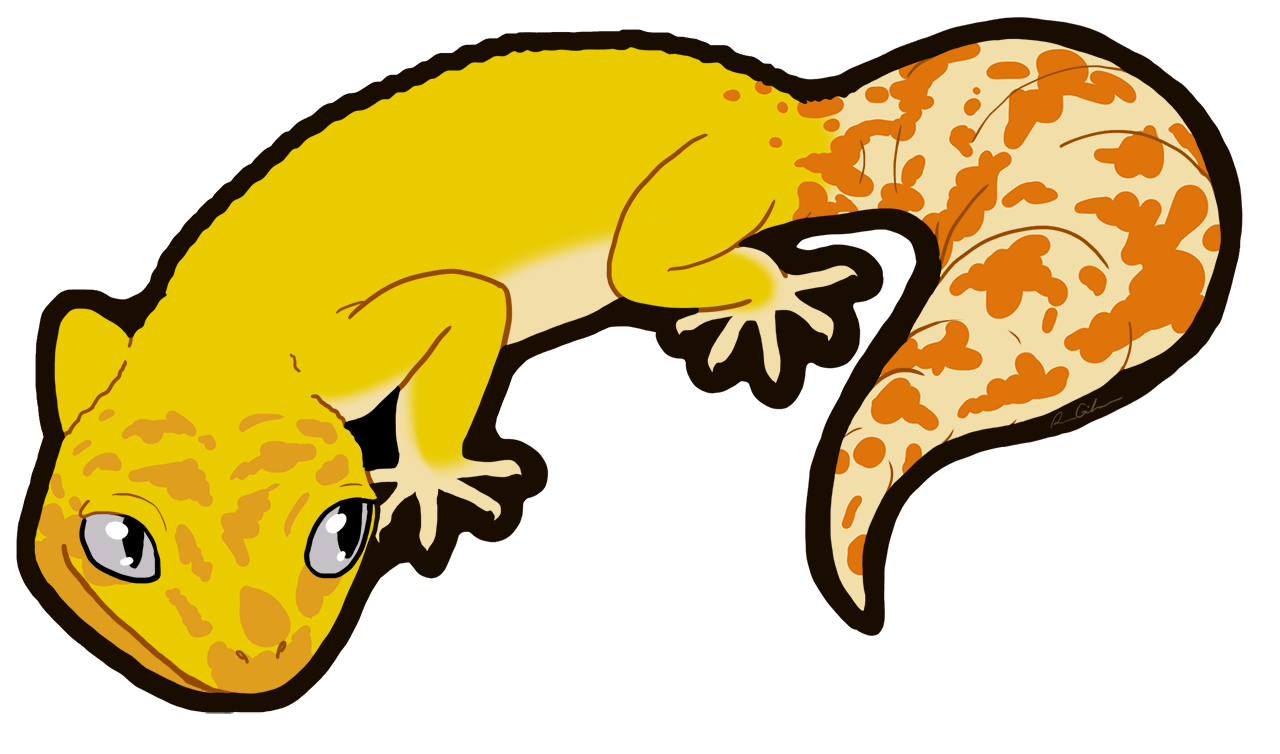 1280x754 Collection Of Leopard Gecko Clipart High Quality, Free