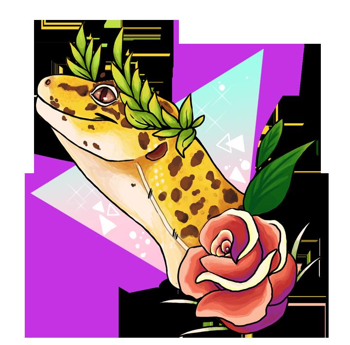 720x709 Magical Leopard Gecko By Sloth Bug