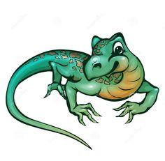 236x231 Cartoon Lizard Clip Art Cartoon Leopard Gecko Photo Fave