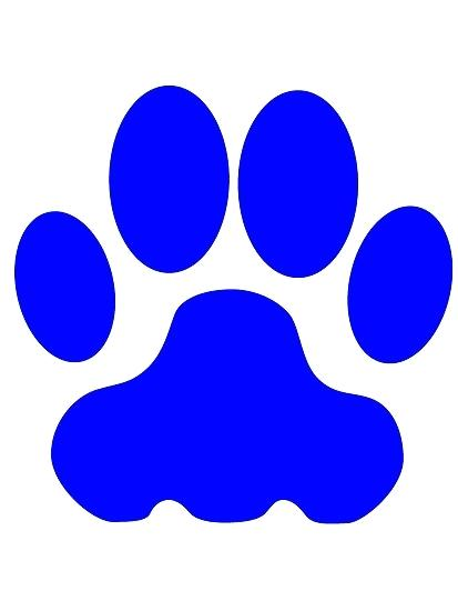 413x550 Cat Prints Clip Art Rainbow Colors Paw Print Pet Clip Art Dog Cat