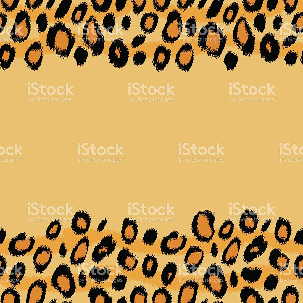 1024x1024 Cheetah Print Border Clip Art