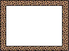 236x175 Cheetah Print Border. Free Downloads