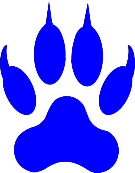 462x594 Cougar Paw Print Clip Art Amp Look At Cougar Paw Print Clip Art Clip